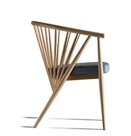 时尚简约木制座椅